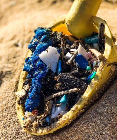 Beach Cleanup Plastics Scoop