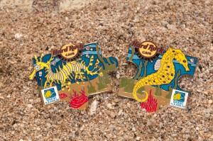 Hard Rock Cafe Seahorse Pins