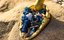 Beach Cleanup Plastics Scoop