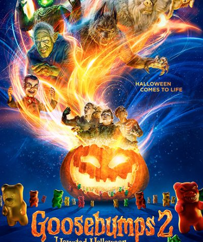 Goosebumps 2 Haunted Halloween Movie Poster